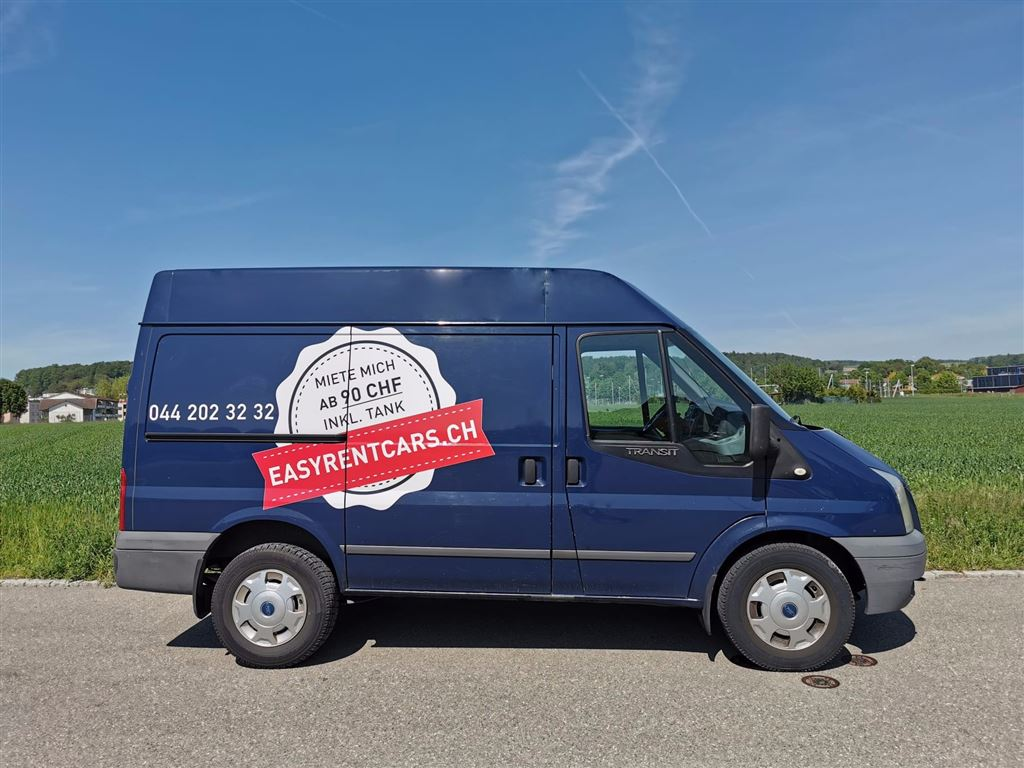 Ford Transit Easyrentcars Autovermietung